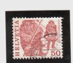 Stamps Switzerland -  Carnaval