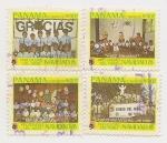 Stamps Panama -  Pro Ciudad del niño-Navidad l985