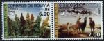 Sellos del Mundo : America : Bolivia : America UPAEP - Flora y Fauna Autoctona