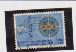 Stamps Switzerland -  oficina intern. deferrocarriles
