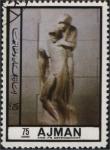 Stamps United Arab Emirates -  Estatua