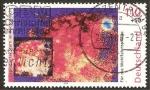 Stamps Germany -  1911 - El Cosmos, explosión de estrellas