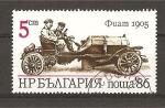 Sellos de Europa - Bulgaria -  Automoviles Antiguos.