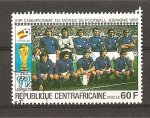 Stamps Africa - Central African Republic -  Mundial España 82.