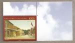 Stamps Oceania - Polynesia -  Calle la pequeña Polonia de Papeete