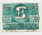 Stamps Sri Lanka -  International Labour Organisation