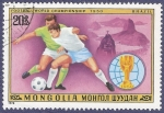 Stamps : Asia : Mongolia :  MONGOLIA Football Wolrd Ch. 1950 20