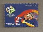Stamps Europe - Ukraine -  Campeonatos Futbol Alemania