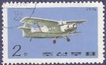 Sellos de Asia - Corea del norte -  COREA NORTE Avión 2