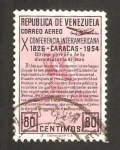 Sellos de America - Venezuela -  conferencia interamericana en caracas