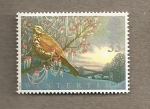 Stamps United Kingdom -  Fauna de invierno