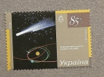 Stamps Europe - Ukraine -  Vuelos espaciales