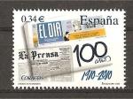 Sellos de Europa - España -  Centenario del periodico El Dia.