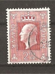 Stamps Norway -  Olaf V.