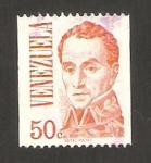 Stamps Venezuela -  Simón Bolívar