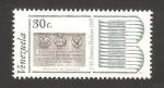 Stamps : America : Venezuela :  II centº del nacimiento de simón bolívar, monumento entrevista guayaquil