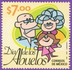 Sellos del Mundo : America : México : El Dia de los Abuelos