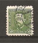 Sellos de Europa - Checoslovaquia -  Cincuentenario de la muerte de Bedrich Smetana (compositor).