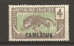 Stamps Africa - Cameroon -  Camerun - Mandato Frances.