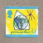 Sellos de Europa - Reino Unido -  Concurso infantil sobre medio ambiente