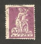 Sellos de Europa - Alemania -  180 -  Bavaria