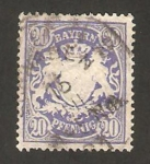Stamps : Europe : Germany :  64 - Escudo de armas