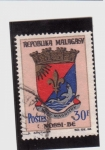Stamps of the world : Madagascar :  Escudo de armas