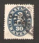 Stamps Germany -  león heráldico
