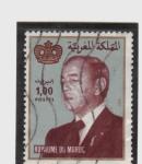 sello : Africa : Marruecos : rey de marruecos