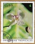 Stamps Cuba -  Orquideas tropicales