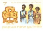 Sellos del Mundo : Oceania : Papúa_Nueva_Guinea : 50TH ANNIVERSARY OF GIRL GUIDES