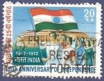 Sellos del Mundo : Asia : India : INDIA 25th Anniverasy of Independece 20