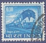 Sellos del Mundo : Asia : India : INDIA Electric Locomotive 0.10