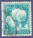 Sellos del Mundo : Asia : India : INDIA Mangoes 50