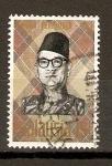 Sellos de Asia - Malasia -  TUNKU  ABDUL  RAHMAN  PUTRA  AL-HAJ