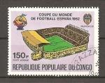 Stamps Democratic Republic of the Congo -  Mundial España 82.