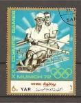 Sellos de Asia - Yemen -  Munich 72.