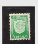Sellos de Asia - Israel -  Escudo de armas