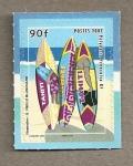 Stamps Oceania - Polynesia -  Tablas surf