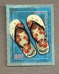 Stamps Oceania - Polynesia -  Chanclas Tahiti