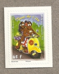 Stamps Oceania - Polynesia -  Vuelta a la isla