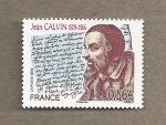 Stamps France -  Juan Calvino