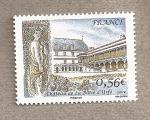 Stamps France -  Castillo d'Urfé