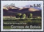 Sellos del Mundo : America : Bolivia : Lugares Turisticos - Tarija
