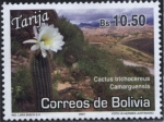 Sellos de America - Bolivia -  Lugares Turisticos - Tarija