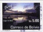 Stamps America - Bolivia -  Lugares Turisticos - Beni