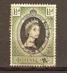 Sellos de Europa - Malta -  CORONACIÖN
