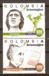 Stamps America - Colombia -  CACICA  GAITANA  Y  SOLEDAD  ACOSTA  de  SAMPER