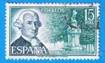 Stamps : Europe : Spain :  Ventura Rodriguez
