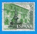 Sellos del Mundo : Europa : España : Plaza del campo (Lugo)